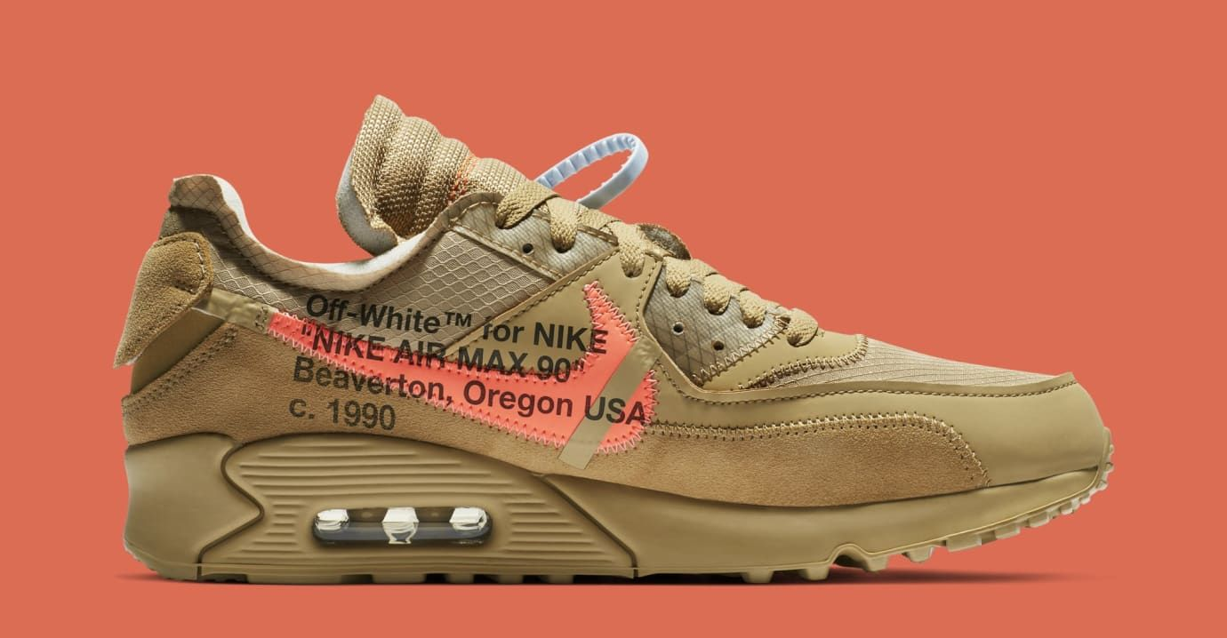Desert Ore Off White X Air Max 90s Releasing Later Than Expected