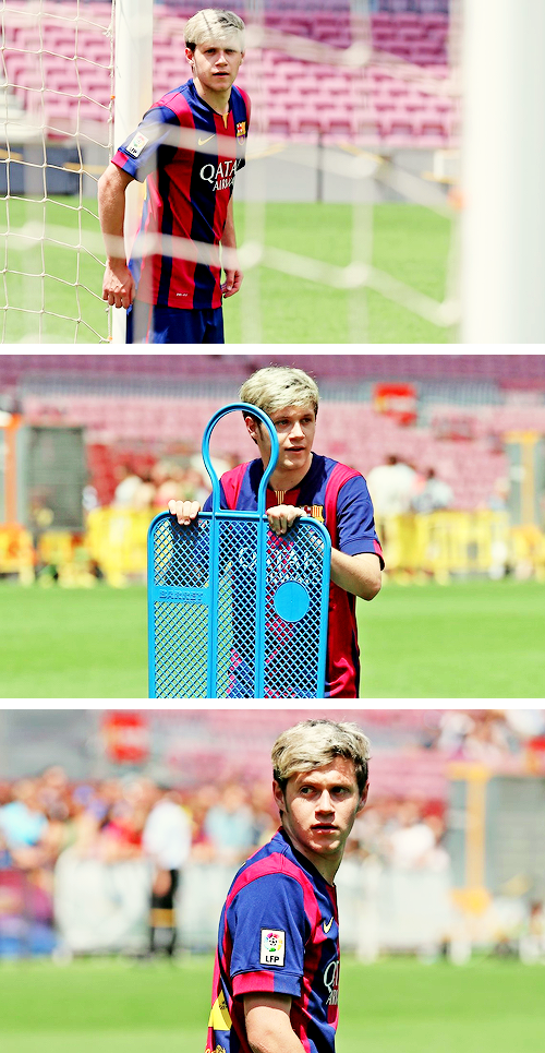 He should play soccer with my brother... That would be an interesting game. My brother is really good at soccer:)