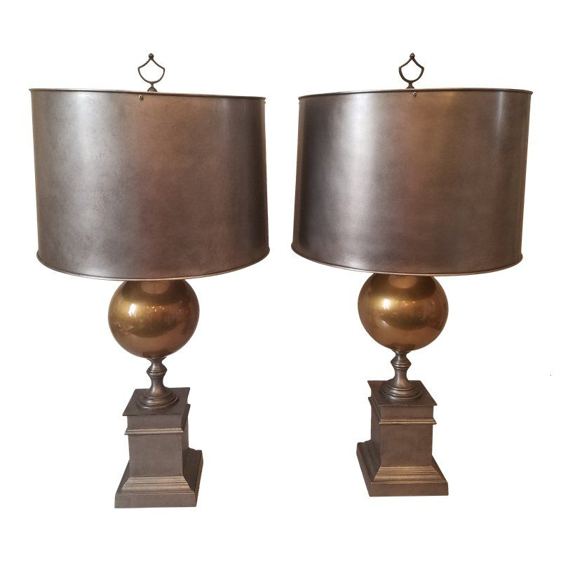 Mary Mcdonald Metal Lamps A Pair Lampen Und Lampentisch