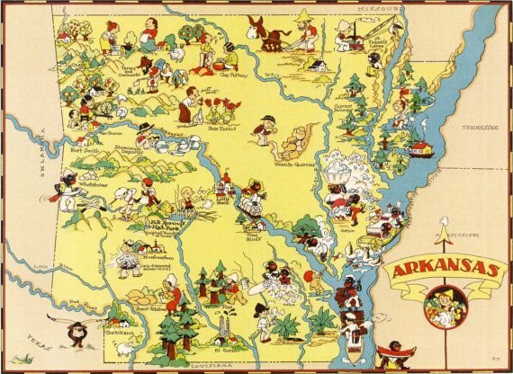 Arkansas Became The Th US State This Day In - 1836 maps us