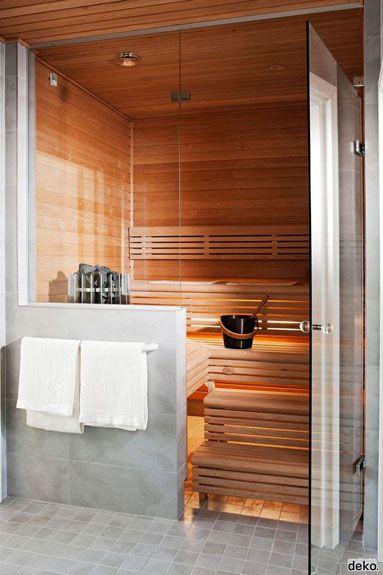 Pon Una Sauna En Tu Casa Diseno De Sauna Diseno De Banos Sala