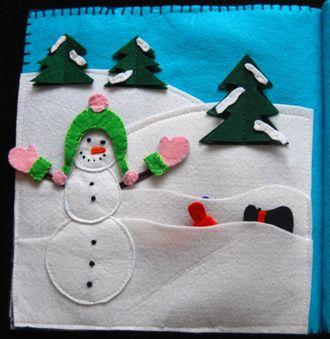 Snowman dress-up page