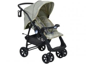 Carrinho de Bebê Passeio Burigotto AT6 2052 - Reclinável 3 Posições para Crianças até 15kg