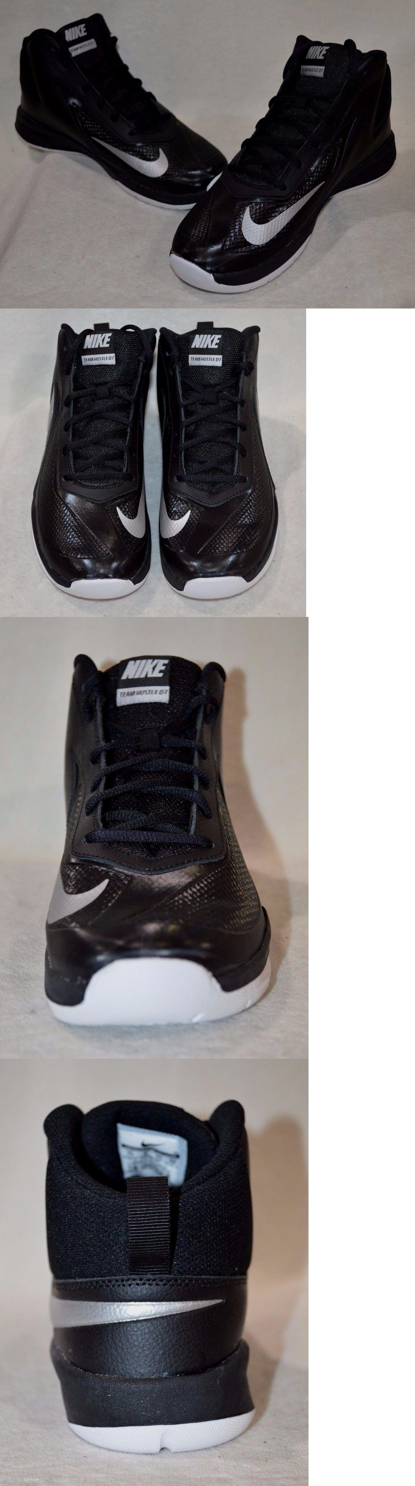 3c0aef2902bace Boys Shoes 57929  Nike Team Hustle D 7 (Gs) Boys Basketball Shoes ...