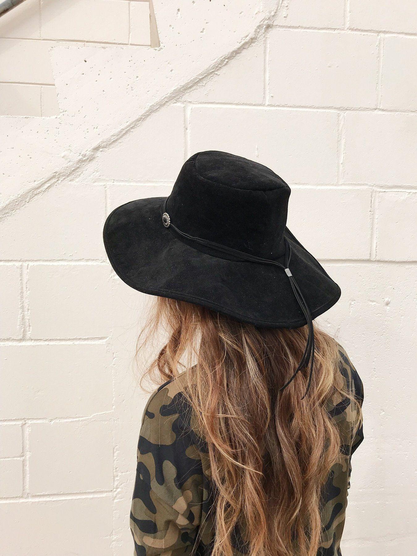 Sadie Western Hat Black – Shellsea b837bc52536