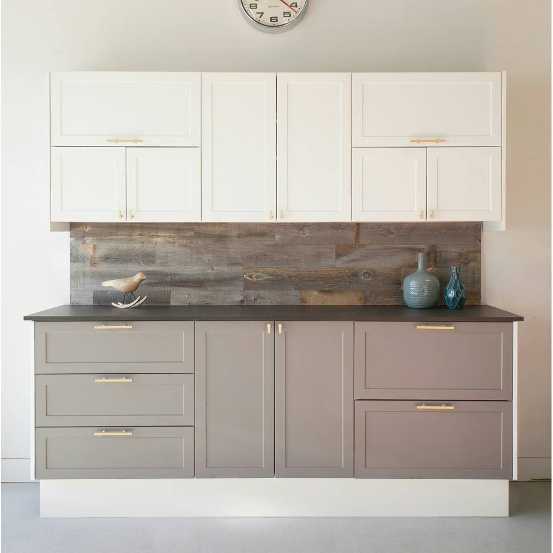 Best A Mix Of Cabinet Sizes Two Tone Kitchen Cabinets 400 x 300