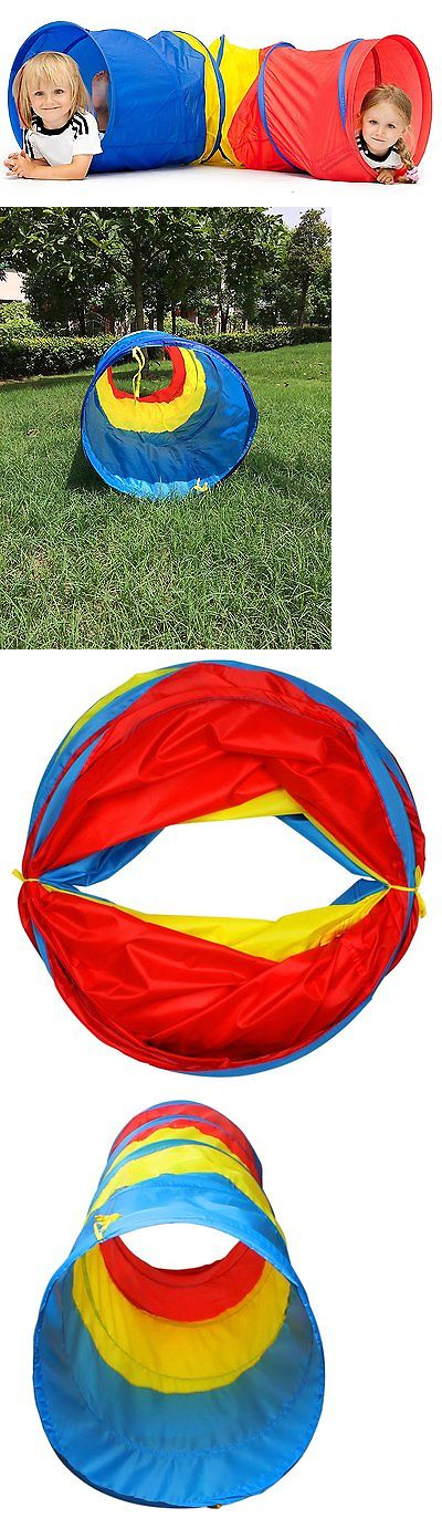 Tunnels 145998 Kiddey 6-Feet Kids Play Tunnel Tent Children Exploration Discovery Crawl  sc 1 st  Pinterest & Tunnels 145998: Kiddey 6-Feet Kids Play Tunnel Tent Children ...