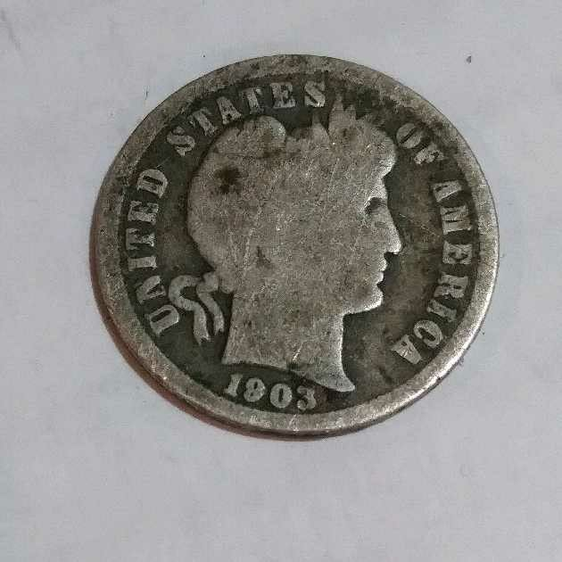 How Much Is This 1903 One Dime Worth It S In Fair Condition And