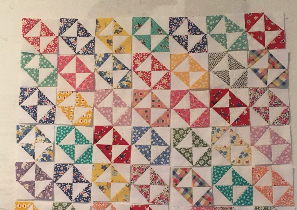 Free Broken Dishes Quilt Pattern And Layout Ideas Quilts Triangle Quilt Quilt Blocks
