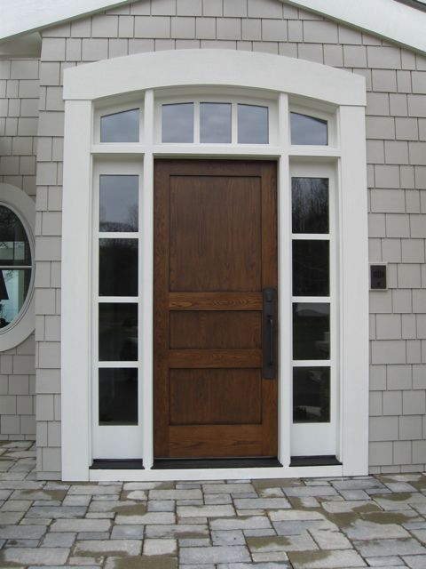Side Windows Beside Solid Door Top Unnecessary