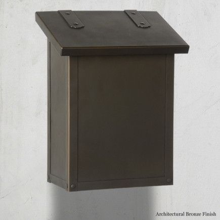 00343f4115 AF-1 Classic | Pinterest | Wall mount mailbox, Wall mount and Bronze ...