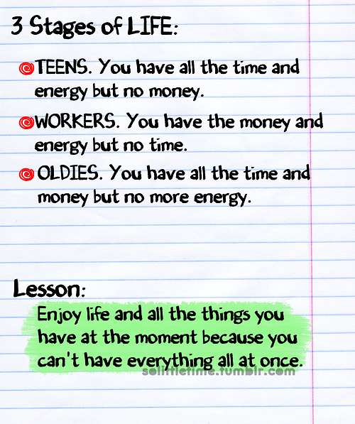 stages of life quotes