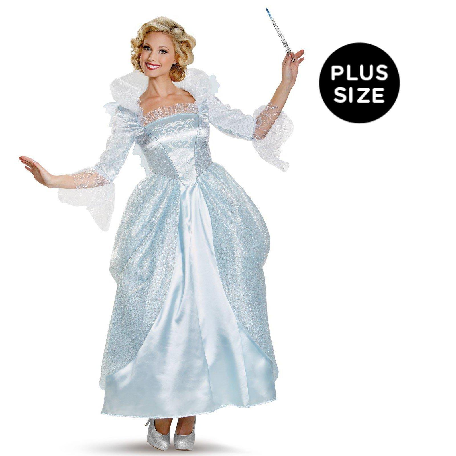 Plus Size Halloween Costume Disney Cinderella Movie