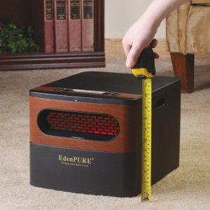 Edenpure Gen2 Quartz Infrared Heater Infrared Heater Portable