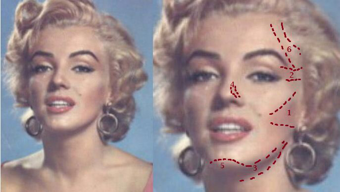 Marilyn Monroe Makeup HowTo Step By Step Tutorial