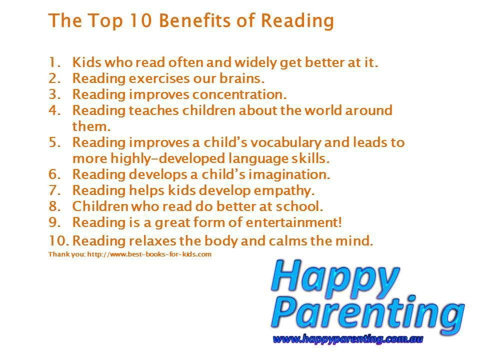 Top 10 benefits of reading (With images)   Teaching kids ...