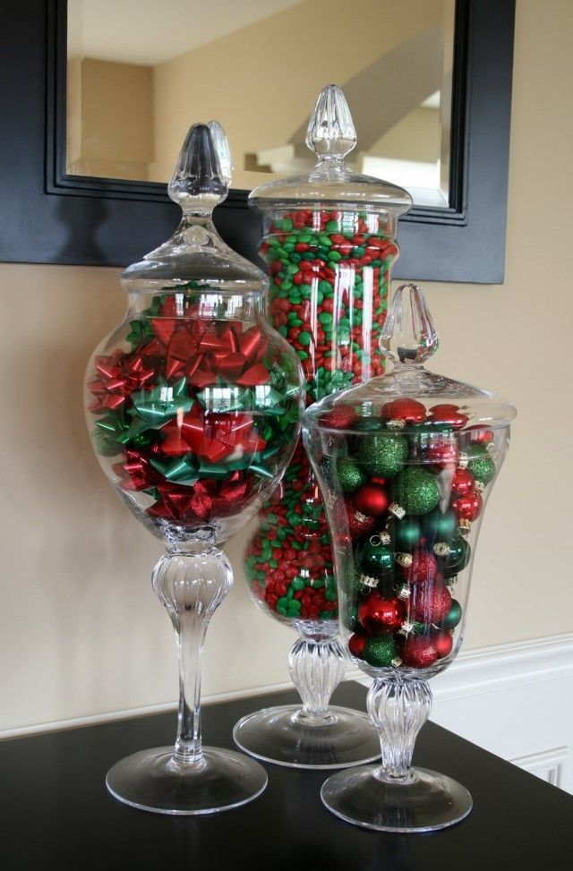 Vase Filler Ideas Christmas Vases Christmas Decorations Diy Vase