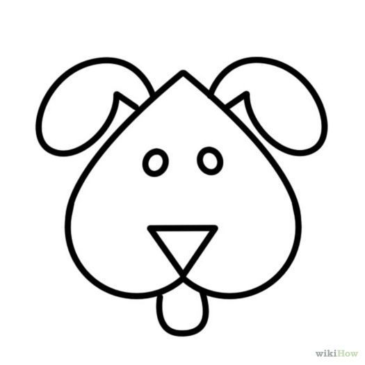 Easy Dog Pictures To Draw