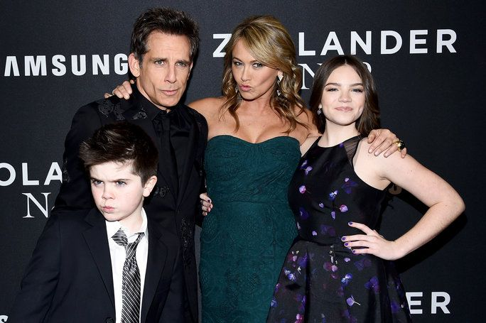 Ben Stiller S Adorable Son Steals The Show With His Blue Steel