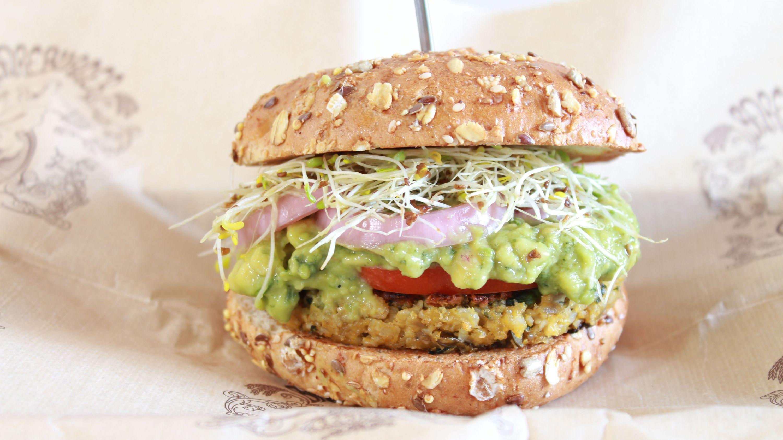 The Best Veggie Burgers In Nyc Quinoa Veggie Burger Best Veggie Burger Veggie Burgers Recipe