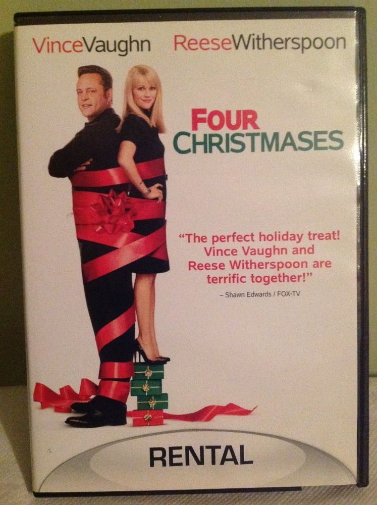 four christmases dvd 2009 vince vaughn and reese witherspoon