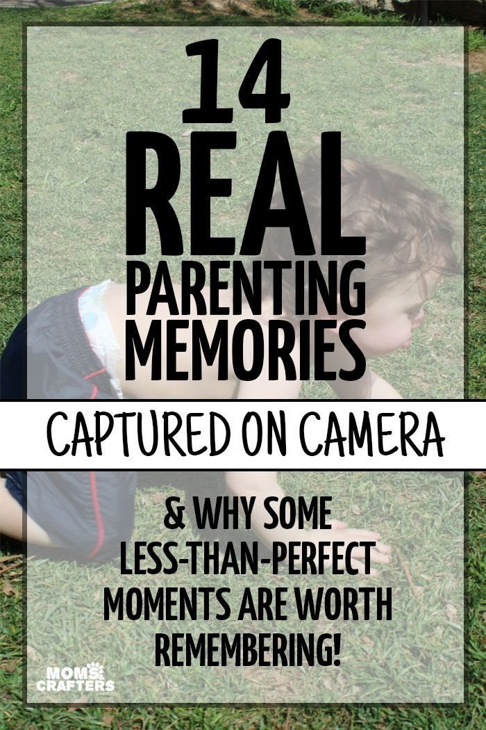 """Do you record """"mishap"""" moments and memories as well? Here is an adorable scrapbooking and baby photography idea: take photos of those less-than-perfect moments and see how they make you laugh later on. 
