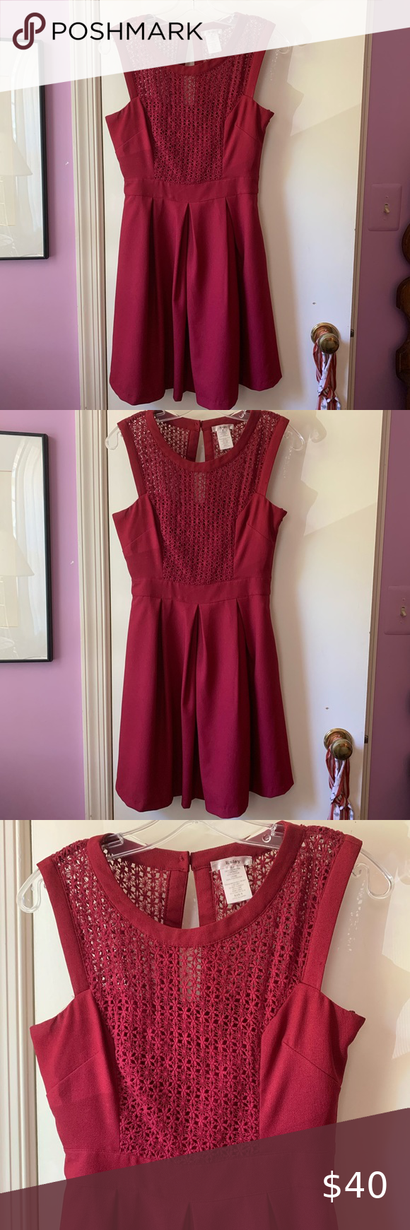 Red Modcloth Cocktail Dress Small Mod Cloth Dresses Dresses Cocktail Dress [ 1740 x 580 Pixel ]