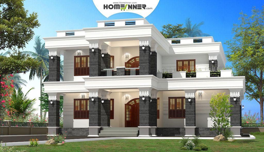 Modern Spacious Box House Design In 2920 Sq Ft Box House Design House Design Kerala House Design