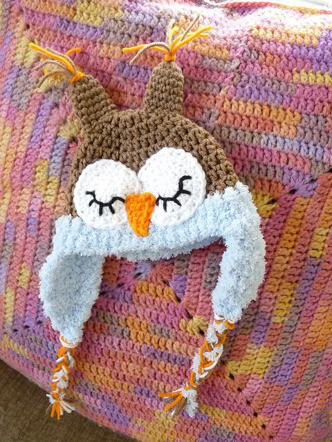 Baby's Owl Hat by somecookie, via Flickr
