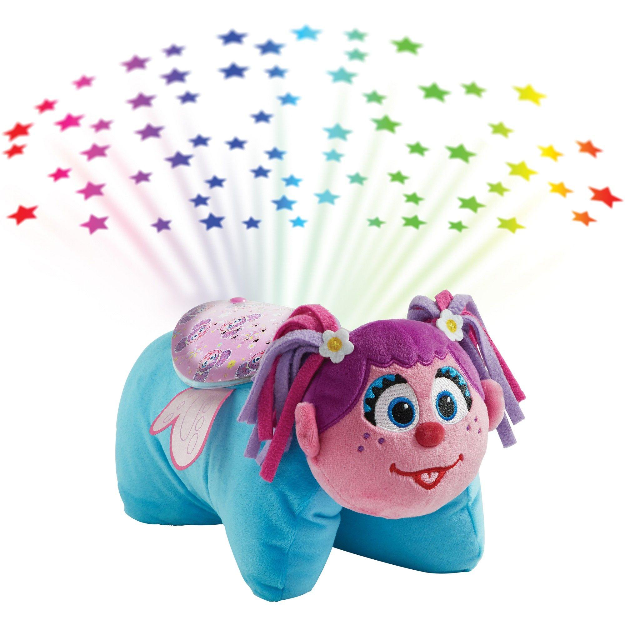 Sesame Street Sleeptime Lites Abby Cadabby Plush Night Light Pink Pillow Pets Animal Pillows Light Pink Pillows Pink Pillows