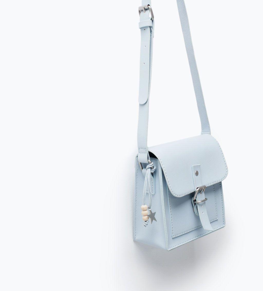 7e5bd575d5 BASIC MESSENGER BAG-Handbags-Girl-SHOES & BAGS | ZARA Hungary ...