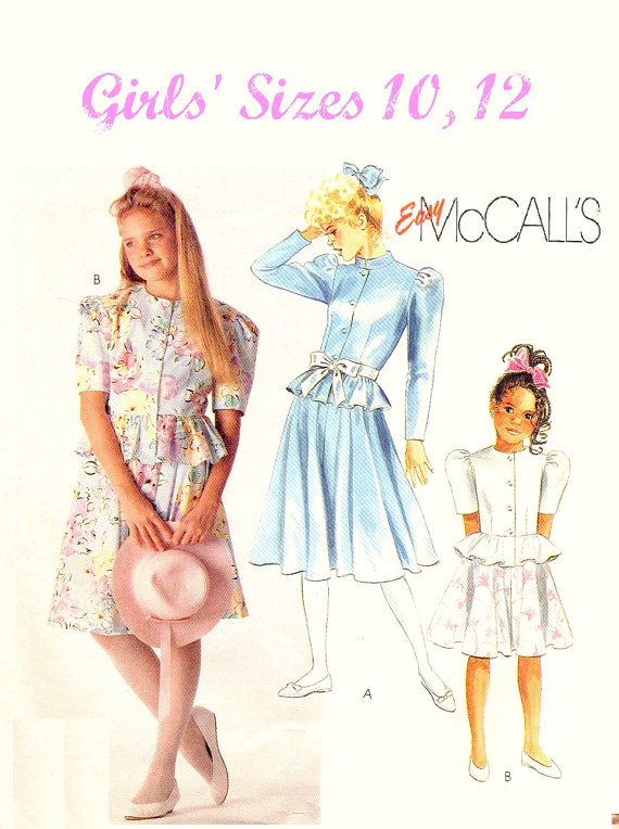 Pin by Mary Anne on Children\'s Sewing Patterns Vintage and Modern ...