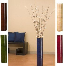 30 Floor Vase Home Vases Stands Tall 20 Inch 25 Bamboo