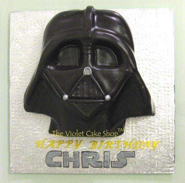 Darth Vader cake by The Violet Cake Shop
