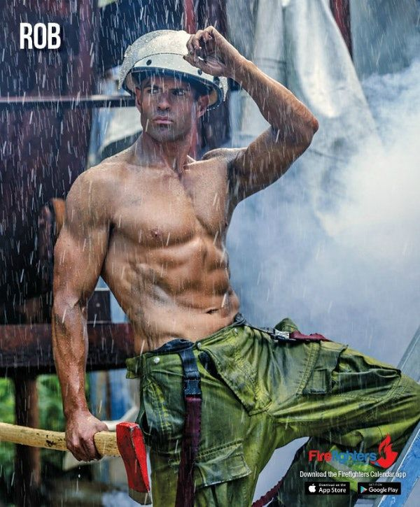Sexy Australian Firefighters New Naked Calendar Is Here