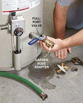 How To Flush A Water Heater Instalacion Electrica Tips De