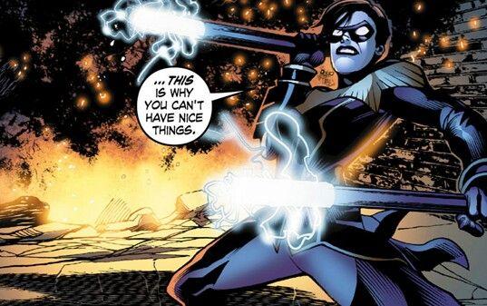 I Am Loving Barbara As Nightwing In Smallville Season 11 Thats