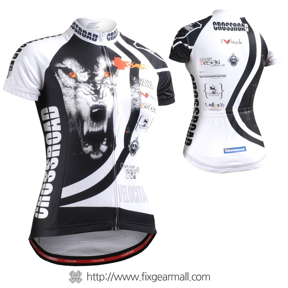 FIXGEAR CS-W502 Women/'s Short Sleeve Cycling Jersey Bicycle Apparel Roadbike MTB