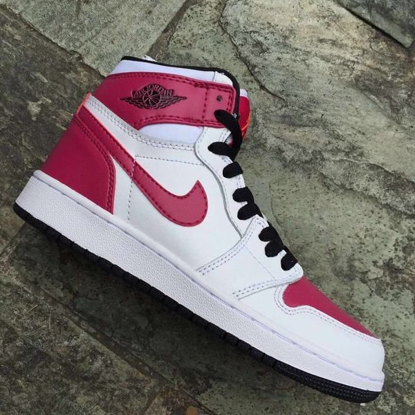Nike Air Jordan 1 High Carmine women shoes 36-40 AAAAA [dfg16030015] - €60.09 : Shopping Online:Clothing,Jewelry,Shoes,bags,Watches,and Other Accessories