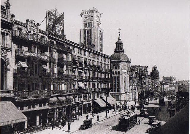 Antiguos Cafés De Madrid Y Otras Cosas De La Villa Fuente