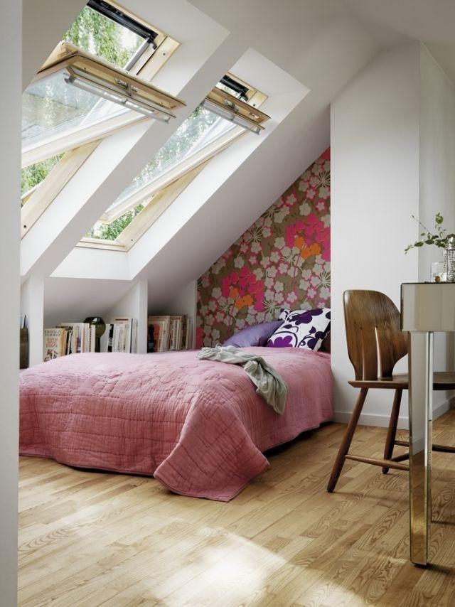 schlafzimmer mi...   dachschrage schlafzimmermi   Ideen für kleine schlafzimmer, Hübsche ...