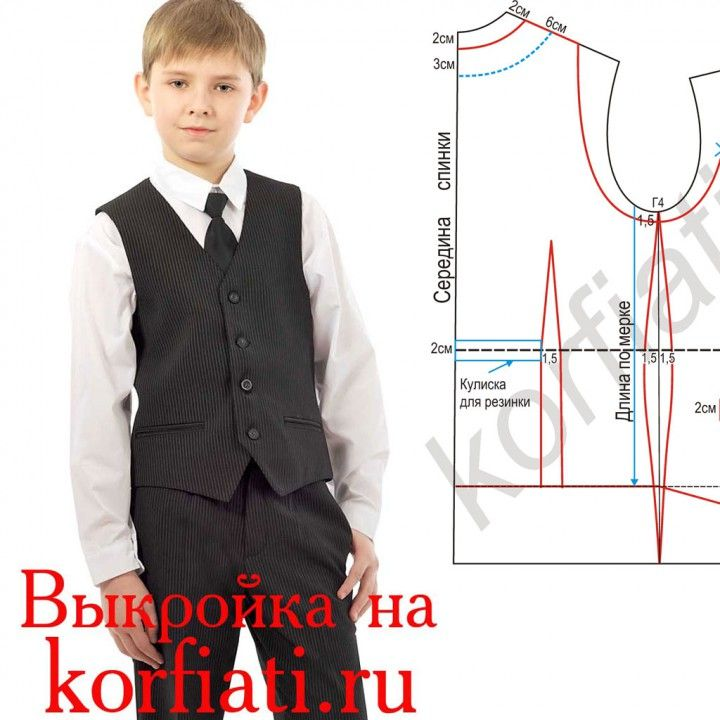 Como hacer chalecos para niños | ropa niños