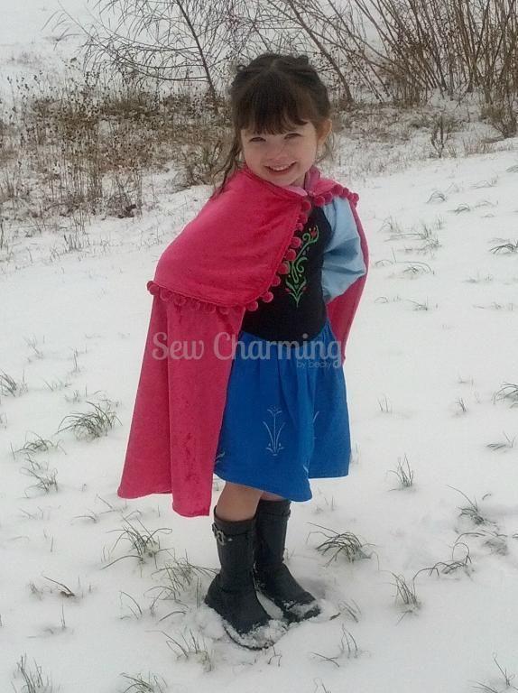 Princess Cape pattern on Craftsy.com #cape #pattern #pdf #diy #craftsy #sewing