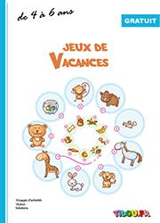 Cahier De Jeux A Imprimer Pour Enfants De 4 A 6 Ans Cahier De Vacances Gratuit Cahier De Vacances Maternelle Cahier De Vacances