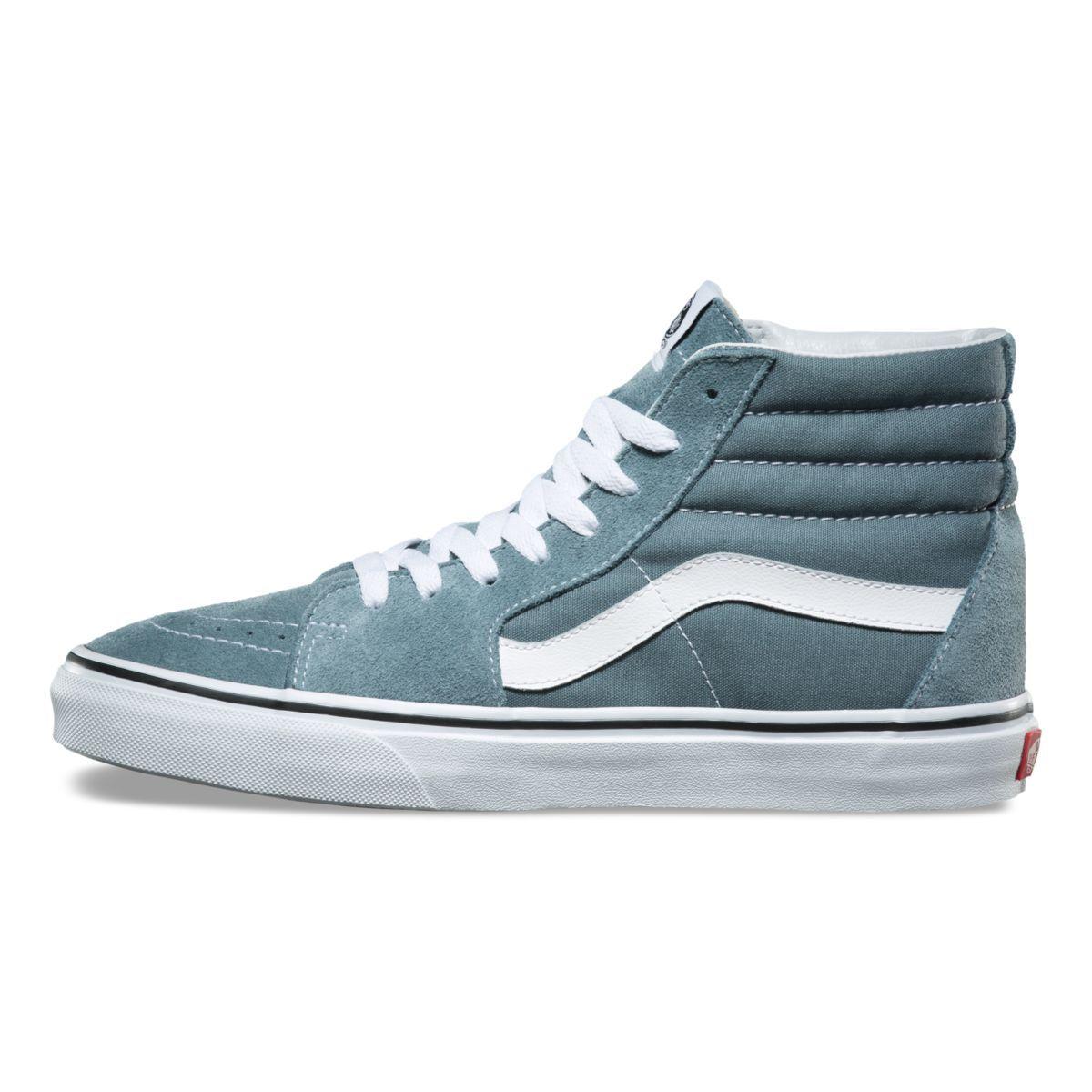 vans schoenen dames blauw