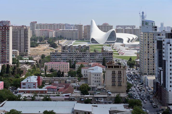 The Heydar Aliyev Center By Zaha Hadid Architects In Baku Azerbaijan Yatzer Zaha Hadid Architects Zaha Hadid Design Zaha Hadid