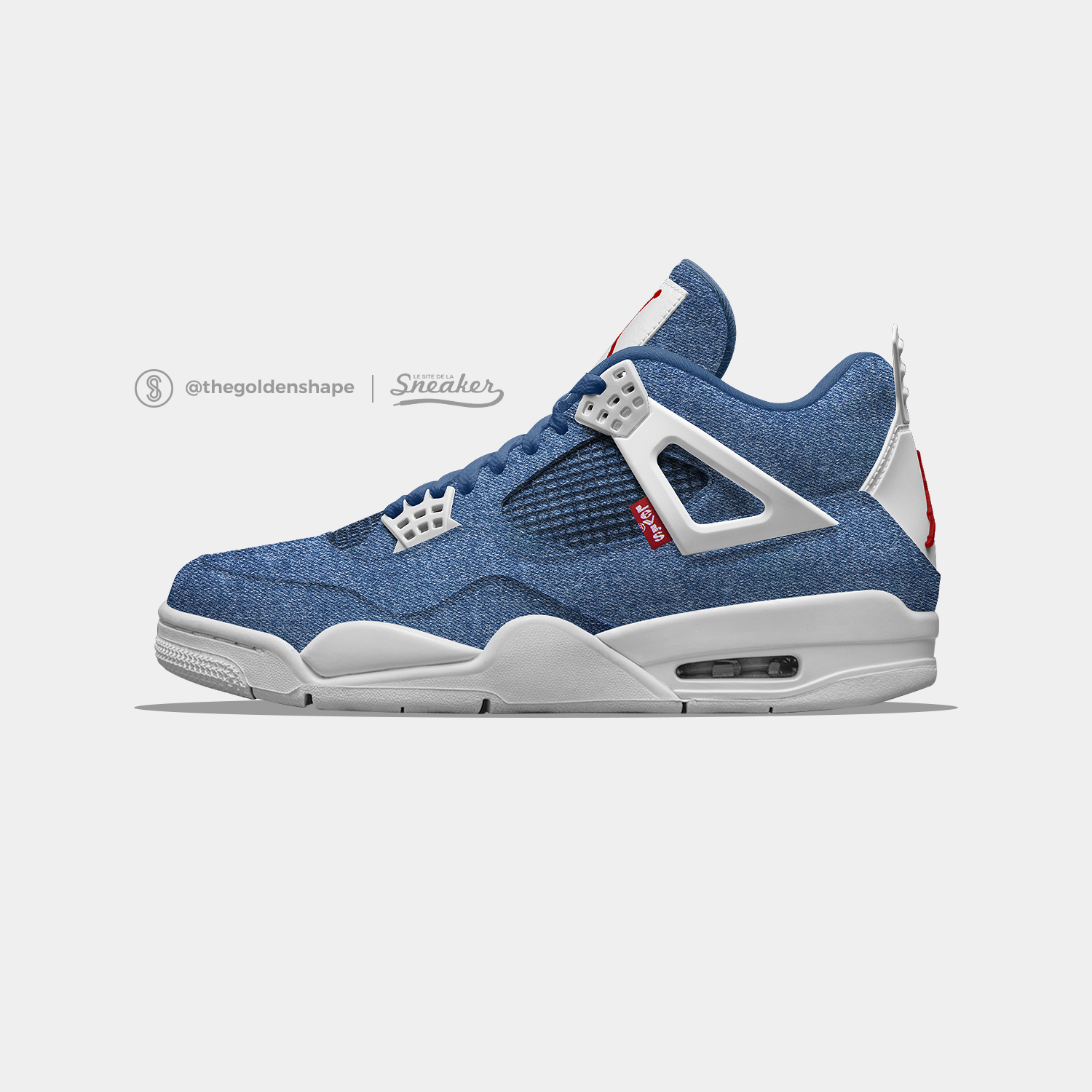 Levi s x Air Jordan 4 Denim Pack  96e75f253