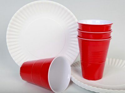 Have paper plates bowls cups and utensils in reserve so you don\u0027t. Plastic CupsRed Solo ... & Have paper plates bowls cups and utensils in reserve so you don ...