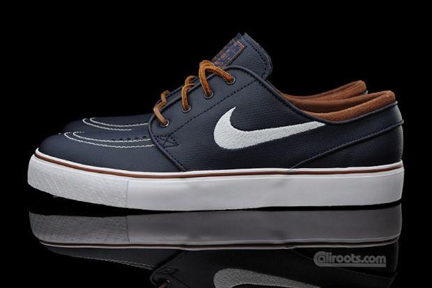 aclaramiento de descuento entrega rápida Nike Sb Zoom Stefan Janoski De Cuero De Obsidiana En Venta uGxruQHs