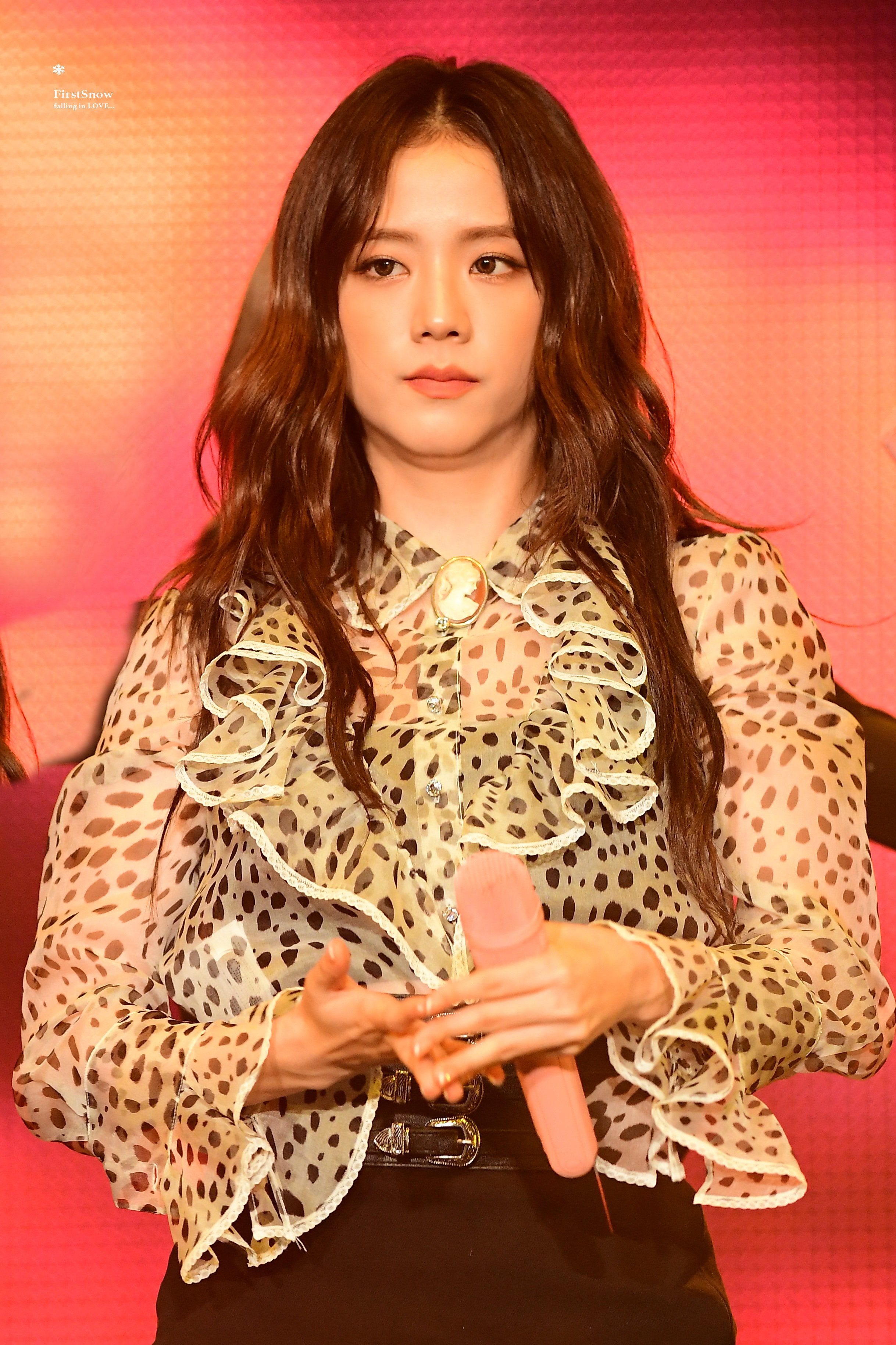 Jisoo Blackpink 190921 2019 Private Stage Fashion Black Pink